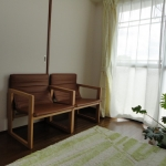 嫁入り家具日記。 たためる椅子