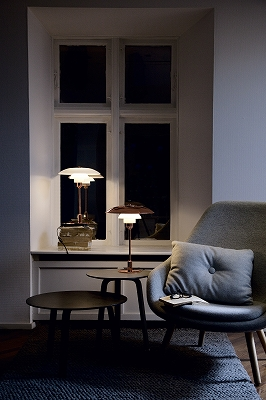 嫁入り家具日記 照明 ポール・ヘニングセン PH3½-2½カッパーテーブルランプ