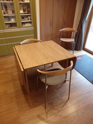 嫁入り家具日記 カールハンセン&サン ハンス・J・ウェグナー CH20エルボーチェア CH88 CH006ダイニングテーブル