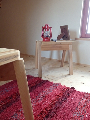 嫁入り家具日記 入政建築 セブンチェア ドロップチェア たためる椅子 FABULA