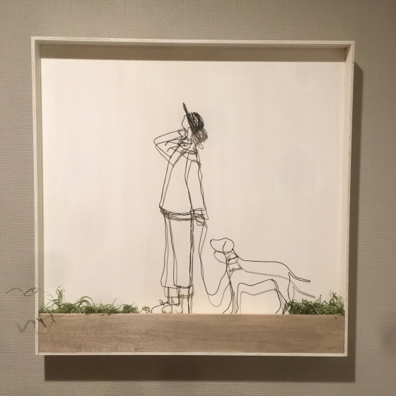 奥田由味子 wire×plants 企画展 イベント 夏
