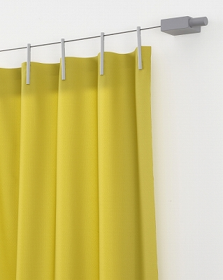 kvadrat_ready made curtain カーテン レール不要