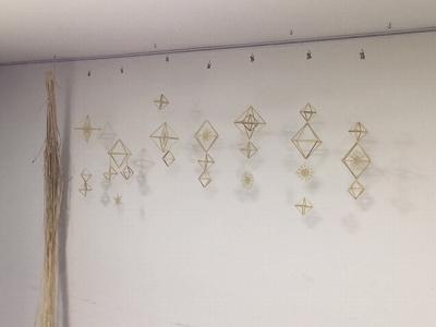 ヒンメリ ワークショップ ライ麦 クリスマス モビール 幾何学 北欧 デンマーク