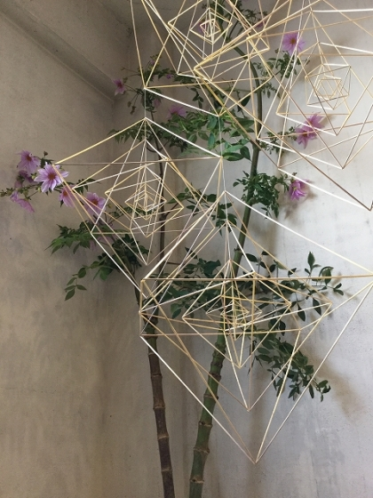kasvi 植物 ヒンメリ ポストカード クリスマス イベント 日陶連 見城周 仲宗根知子 hanafutaba madomado